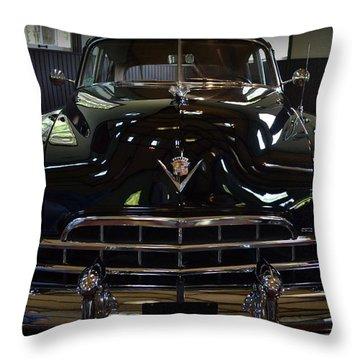 1948 Cadillac Front Throw Pillow
