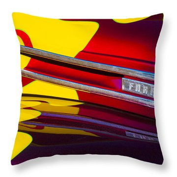 1948 Ford Panel Truck Throw Pillow