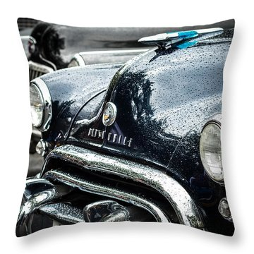 1948 Oldsmobile Dynamic Throw Pillow by Ronda Broatch
