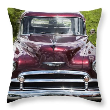 1950 Chevrolet Beauty Throw Pillow