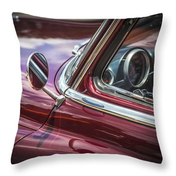 1950 Chevrolet Side View Mirror Throw Pillow