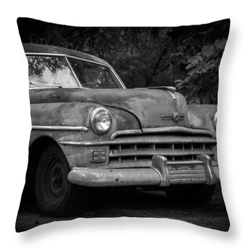 1950 Chrysler Windsor Throw Pillow