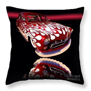 1951 Mercury Sedan Throw Pillow