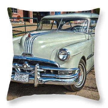 1951 Pontiac Chieftain Side View Throw Pillow