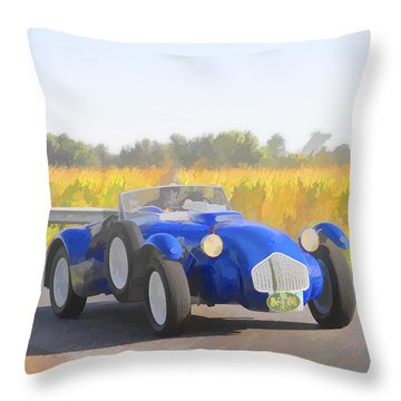 1953 Allard J2x Roadster Throw Pillow