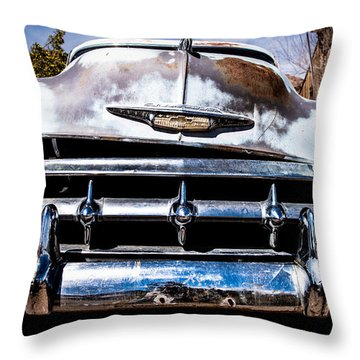 1953 Chevy Bel Air Throw Pillow