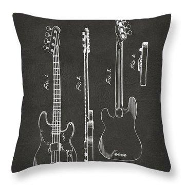 Electric Guitar Throw Pillows
