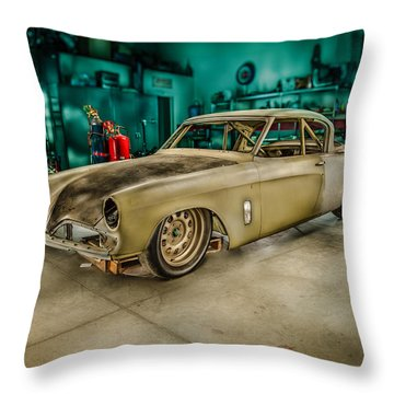 1953 Studebaker Hawk Throw Pillow