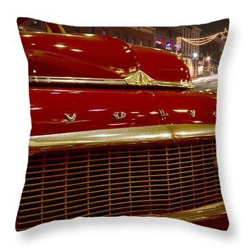 1953 Volvo Pv 444 Throw Pillow