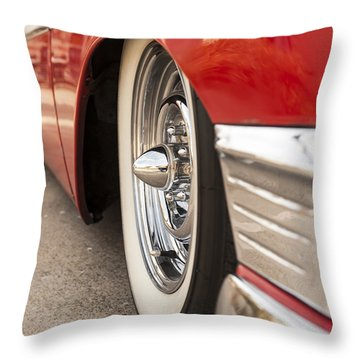 1956 Chevy Custom Throw Pillow