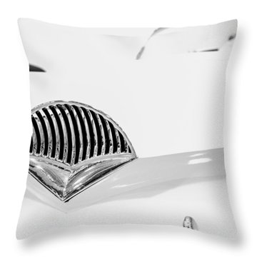 1954 Kaiser Darrin Grill Throw Pillow