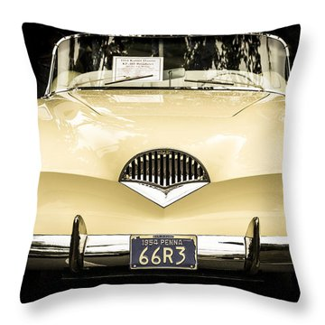 1954 Kaiser Darrin Kf-161 Roadster Throw Pillow