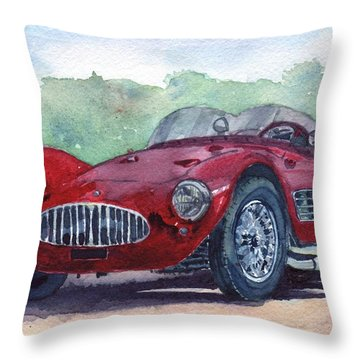 1954 Maserati A6 Gsc Tipo Mm Throw Pillow