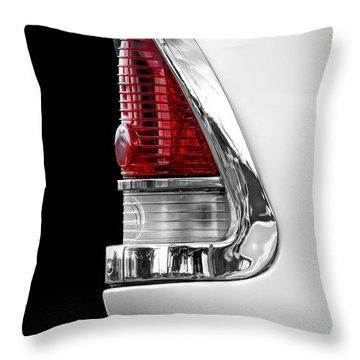 1955 Chevy Rear Light Detail Throw Pillow