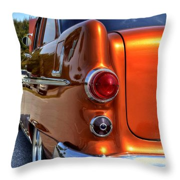 1955 Pontiac Throw Pillow
