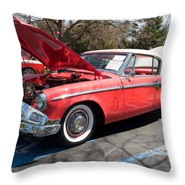 1955 Studebaker Throw Pillow