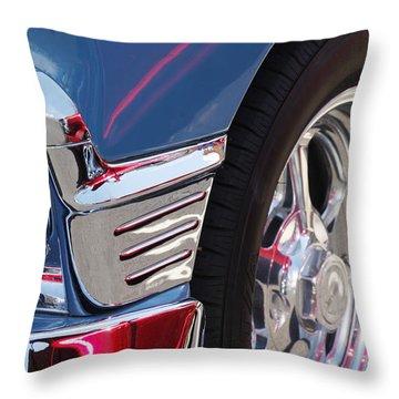 1956 Chevrolet Handyman Wagon Wheel -179c Throw Pillow