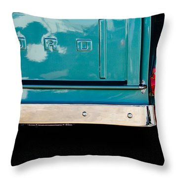 1956 Ford F-100 Truck Taillight 2 Throw Pillow