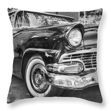 1956 Ford Fairlane Throw Pillow by Theresa Tahara