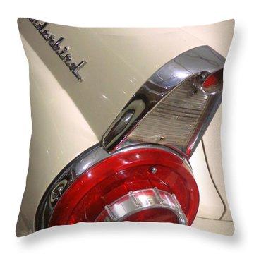 1956 Ford Thunderbird Throw Pillow