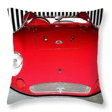 1956 Meserati 300s Throw Pillow