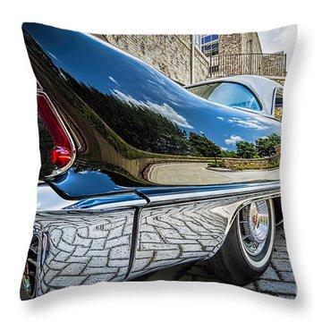 1957 Cadillac Eldorado Throw Pillow