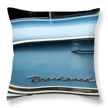 1958 Chevrolet Brookwood Station Wagon Throw Pillow