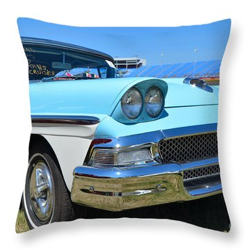1958 Ford Throw Pillow