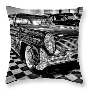 1958 Lincoln Continental Mk IIi Throw Pillow