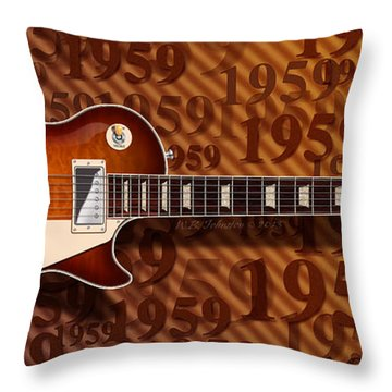 1959 Throw Pillow