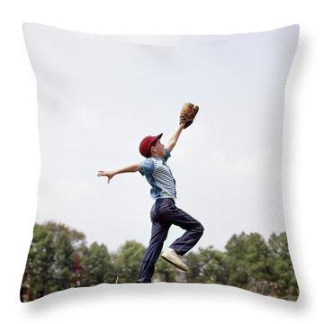 Americas Playground Throw Pillows