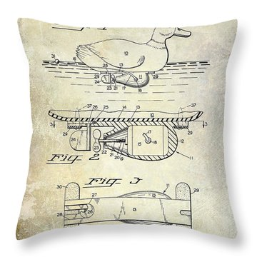 Duck Hunting Throw Pillows