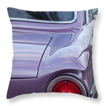 1963 Ford Falcon Tail Light Throw Pillow by Jill Reger