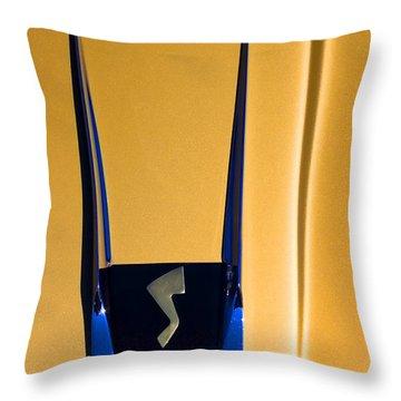 1963 Studebaker Avanti Emblem Throw Pillow