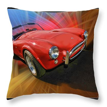 1964 Cobea Throw Pillow