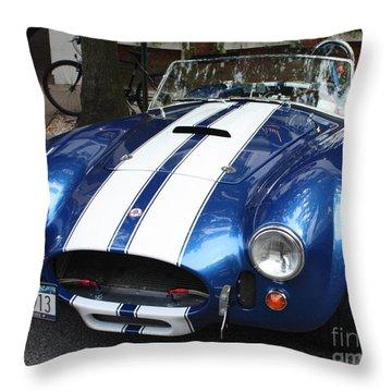 1965 Cobra Shelby Throw Pillow