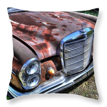 1965 Mercedes-benz Throw Pillow