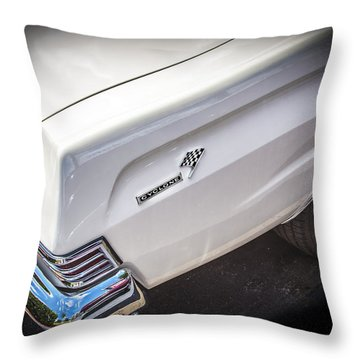 1965 Mercury Comet Cyclone Gt Throw Pillow