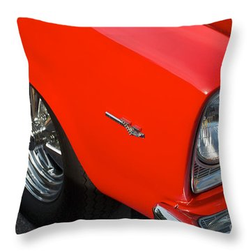 1965 Plymouth Belvedere Throw Pillow by Mark Dodd