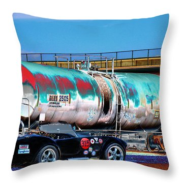 1965 Shelby Cobra II Throw Pillow