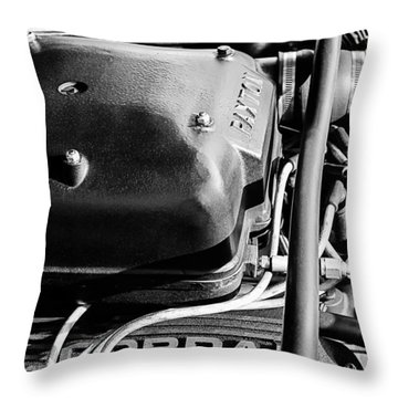 1965 Shelby Prototype Ford Mustang Paxton Throw Pillow by Jill Reger