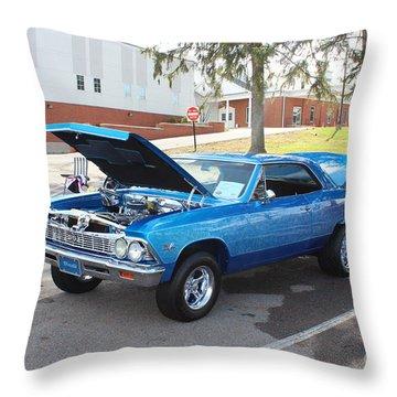 1966 Chevelle Super Sport Throw Pillow