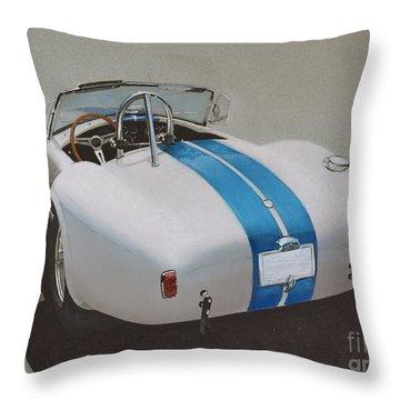 1966 Cobra Throw Pillow