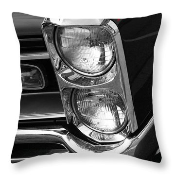 1966 Gto Throw Pillow