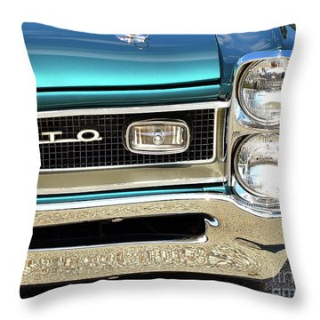 1966 Pontiac Gto Throw Pillow
