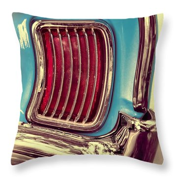 1966 Pontiac Tempest Taillight Throw Pillow
