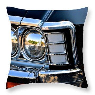 1967 Chevy Impala Front Detail Throw Pillow