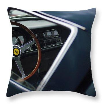 1967 Ferrari 275 Gtb-4 Berlinetta Throw Pillow by Jill Reger