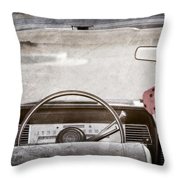 1967 Lincoln Continental Throw Pillow