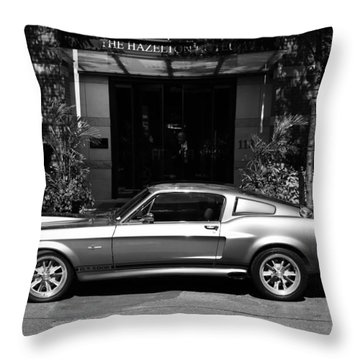 1967 Shelby Mustang B Throw Pillow